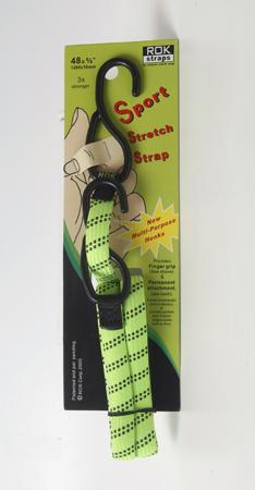 רצועות אלסטיות באורך קבוע לעיגון מטענים עומס 60 ק״ג ROK straps